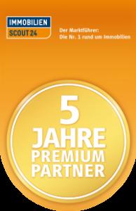 CW Immobilen Gerresheim ist 5 Jahre Premium Partner